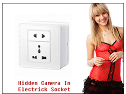Spy CCTV Socket Camera