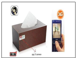 Spy 3G Tissue Paper Car Camera