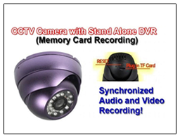 Spy CCTV Camera In Built DVR