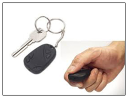 Spy Secret Keychain Camera