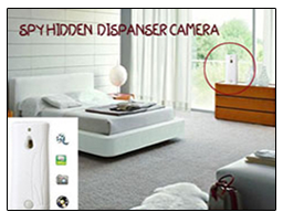 Room Air Freshner Dispenser Camera