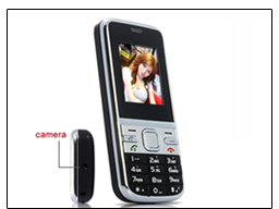 Mobile Phone with Spy Camera