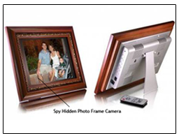 Spy Hidden Photo Frame Camera