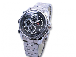 Spy 4GB Waterproof Wrist Watch Camera