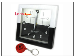 Spy Hidden Wall Clock Camera