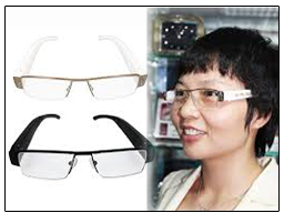 Spy Hidden Glasses Camera