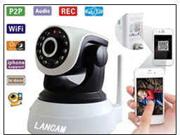 CCTV Camera With Micro SD Card