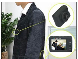 Spy Video Button Camera